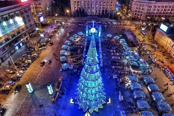 Kharkiv New Years Eve