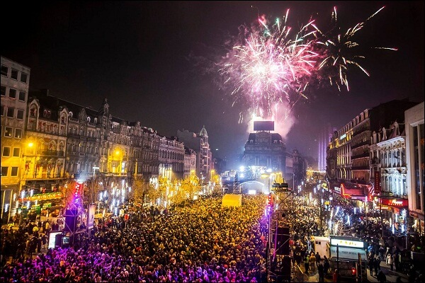 Brussels New Years Eve