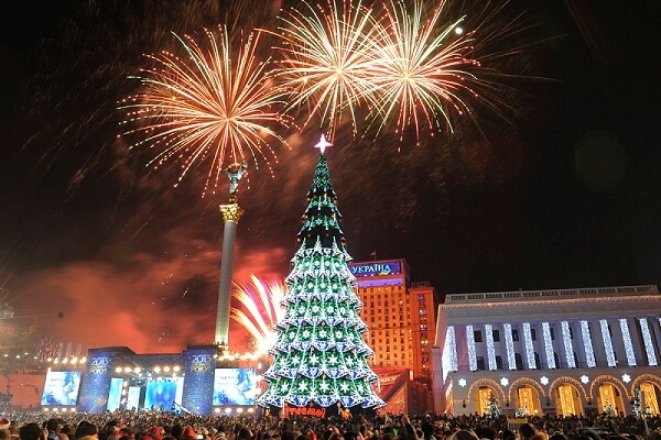 Kiev New Years Eve