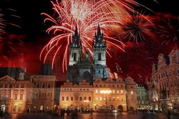 Prague New Years Eve