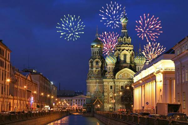 Saint Petersburg New Years Eve