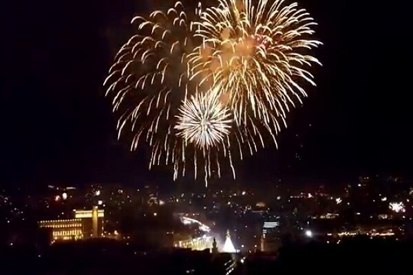 Tbilisi New Years Eve