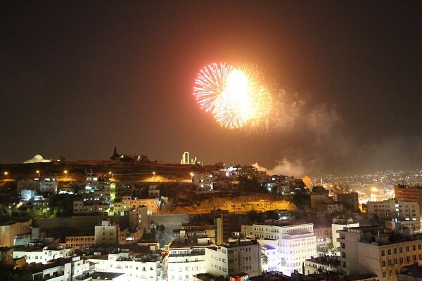 Amman New Years Eve Fireworks