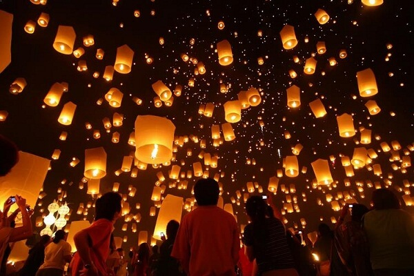 Chiang Mai New Years Eve