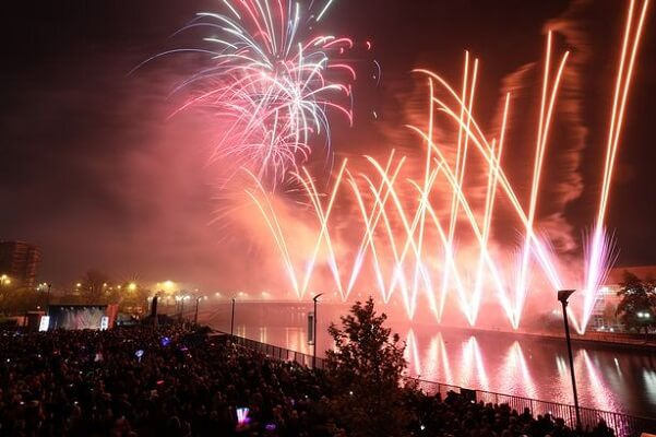 Stockton New Years Eve Fireworks