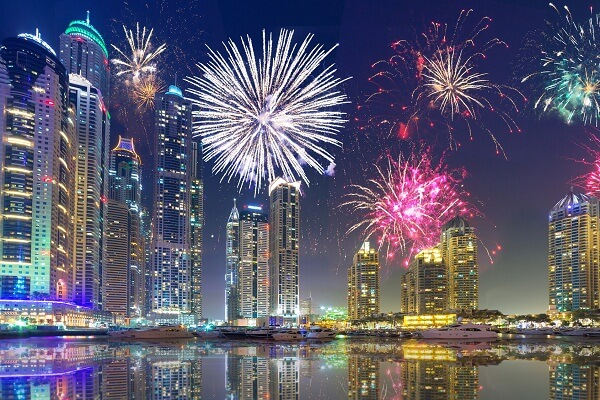 Dubai New Years Eve 2020 Parties, Events, Fireworks Live ...