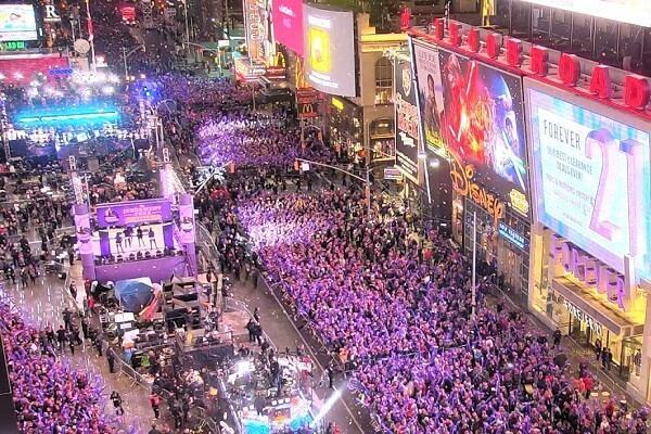 Times Square New Year Celebrations